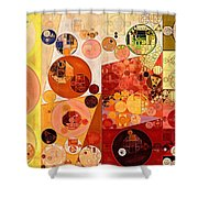 Abstract Painting - West Side Shower Curtain
