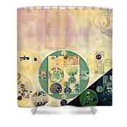 Abstract Painting - Xanadu Shower Curtain
