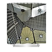 Abstract Paris Shower Curtain