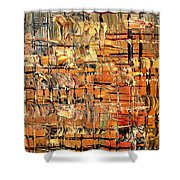 Abstract Part By Rafi Talby Shower Curtain