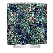 Abstract Pattern Of Colors Shower Curtain