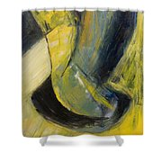 Abstract Pendulum Shower Curtain