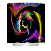Abstract Perfection  13 Shower Curtain