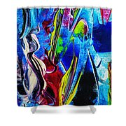 Abstract Perfection Shower Curtain