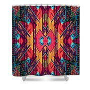 Abstract Photomontage No 5 Shower Curtain