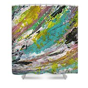 Abstract Piano 1 Shower Curtain