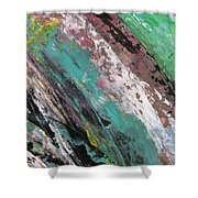 Abstract Piano 2 Shower Curtain