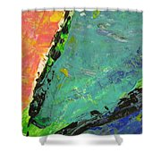 Abstract Piano 4 Shower Curtain