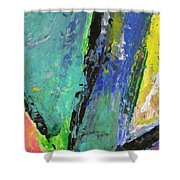 Abstract Piano 5 Shower Curtain
