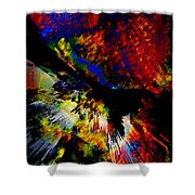 Abstract Pm Shower Curtain