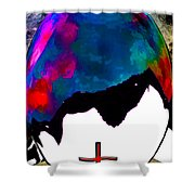 Abstract Religion 2a Shower Curtain