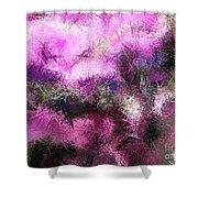 Abstract Rhythm Shower Curtain