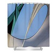Abstract Sailcloth Ycc103 Shower Curtain