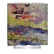 Abstract Series Dreaming Shower Curtain