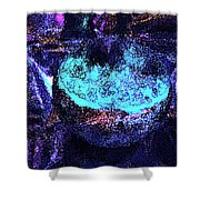 Abstract Sphere Shower Curtain