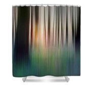 Spring Forest Shower Curtain