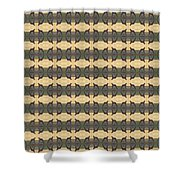 Abstract Square 19 Shower Curtain