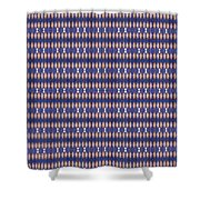 Abstract Square 20 Shower Curtain