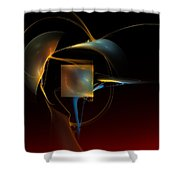 Abstract Still Life 012211 Shower Curtain