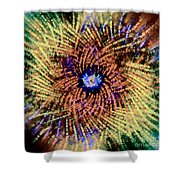 Abstract Swirl 01 Shower Curtain