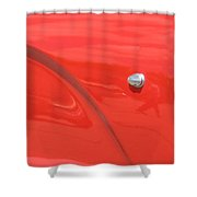Abstract Thunder Shower Curtain