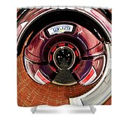 Abstract Trike Shower Curtain