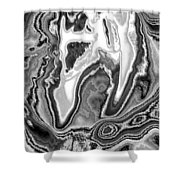 Abstract Tulip 2 Shower Curtain