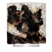 Abstract Universe Planet 5 Shower Curtain