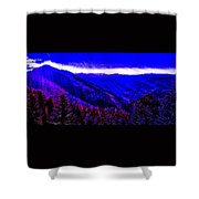 Abstract Views Shower Curtain