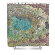 Abstract Viii Wr Shower Curtain
