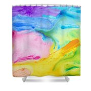 Abstract Vivid Shower Curtain
