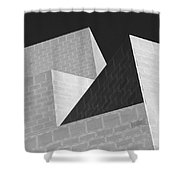 Abstract Walls Shower Curtain