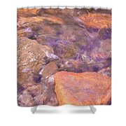 Abstract Water Art II Shower Curtain
