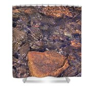 Abstract Water Art Iv Shower Curtain