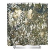 Abstract Water Art V Shower Curtain