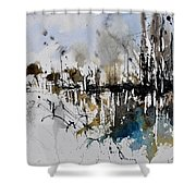 Abstract Watercolor 012130 Shower Curtain