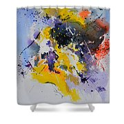 Abstract Watercolor 70075 Shower Curtain