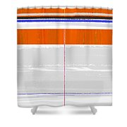 Abstract Way Shower Curtain by Naxart Studio