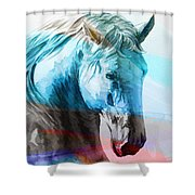 S  .  I  .  R  .  I  .  O Shower Curtain