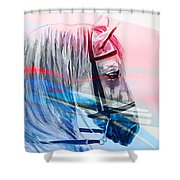 S .  H .  A .  M .  A .  N Shower Curtain