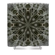 Abstract Wildflower 11 Shower Curtain