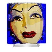 Abstract Woman #2 Shower Curtain