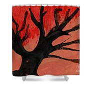 Abstract X Wr Shower Curtain