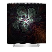 Abstract051710a Shower Curtain