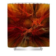 Abstract0610b Shower Curtain