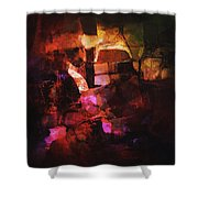 Abstract62 Shower Curtain