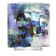 Abstract86 Shower Curtain