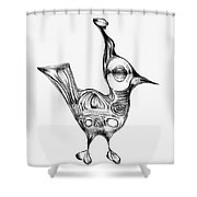 Abstraction 1224 - Marucii Shower Curtain