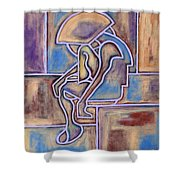 Abstraction 153 Shower Curtain