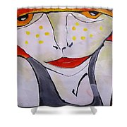 Abstraction 1718 Shower Curtain